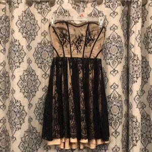 Guess Babydoll Strapless Dress